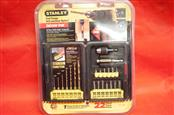 STANLEY STC-1998 22 PIECE DRILL BIT/ SCREW DRIVE SET